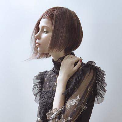 美容業界誌に掲載された三好の作品